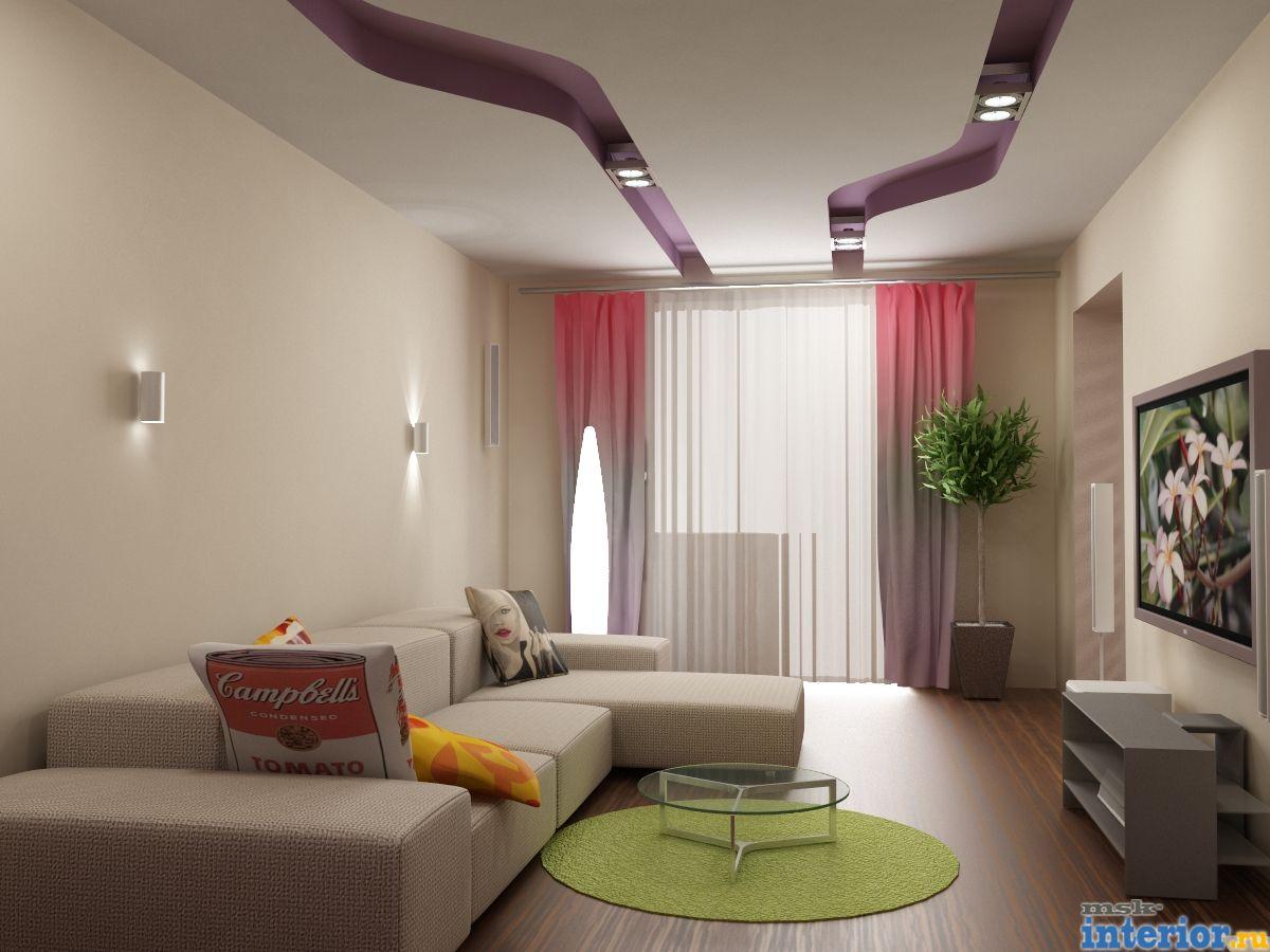 Интерьер зала в квартире - ТОП-5 фото дизайна для